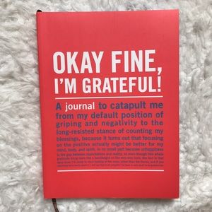 Urban Outfitters Sarcastic Gratitude Journal